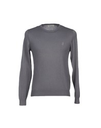 Jeckerson Knitwear Jumpers Men Grey