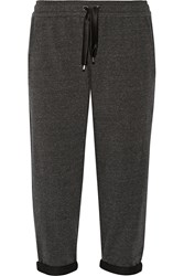 Brunello Cucinelli Stretch Cotton Blend Jersey Track Pants