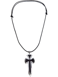 Gavello Sword Pendant Necklace Black
