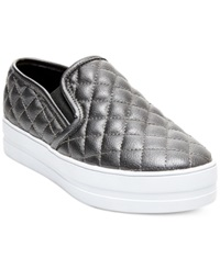 Madden Girl Madden Girl Plaaya Quilted Flatform Slip On Sneakers Women's Shoes