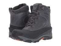 The North Face Chilkat Le Ii Luxe Dark Shadow Grey Bombay Orange Men's Shoes Black