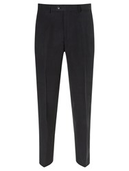 John Lewis Silk And Linen Suit Trousers Navy