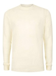 Topman Stone Boucle Textured Slim Fit Sweater