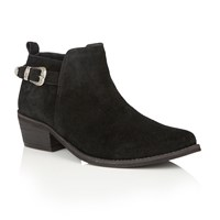 Ravel Kendall Ankle Boots Black Suede