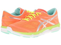 Asics 33 Fa Coral Flash Yellow Mint Women's Running Shoes Orange