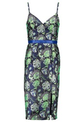 Miss Selfridge Summer Dress Multi Bright Green