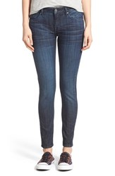 Junior Women's Vigoss 'Chelsea' Skinny Jeans Dark Wash