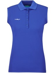 Chervo Anzoright Sleeveless Polo Blue