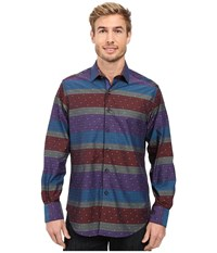Robert Graham Vatican Hill Long Sleeve Woven Shirt Multi Men's Long Sleeve Button Up