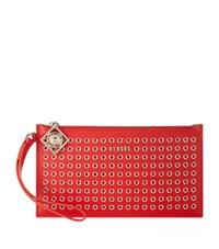 Versus By Versace Versus Versace Studded Leather Pouch Female