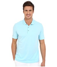 Adidas Performance Polo Frost Blue Men's Clothing