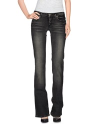 Parasuco Cult Denim Denim Trousers Women Black
