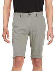 Selected Cuffed Shorts Grey