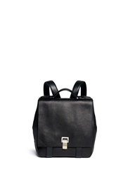 Proenza Schouler 'Ps Courier' Small Leather Backpack Black