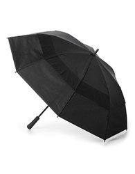 Totes Auto Opening Vented Golf Umbrella Black