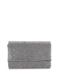 Sasha Embellished Clutch Gunmetal
