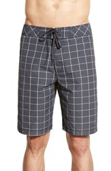 Men's Prana 'El Porto' Plaid Board Shorts