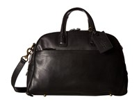 Polo Ralph Lauren Core Leather Sports Hold All Black Bags