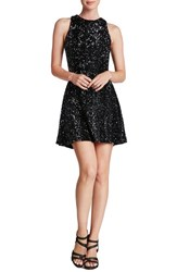 Women's Dress The Population 'Mia' Sequin Skater Dress