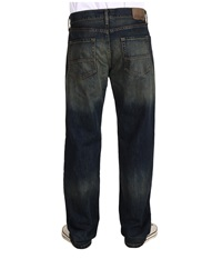 Nautica Medium Wash Crosshatch Jean In Rigger Blue Rigger Blue Men's Jeans