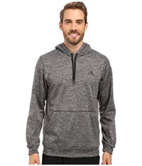 Adidas Team Issue Fleece Pullover Hoodie Dgh Solid Grey Heather Black Men's Sweatshirt Gray