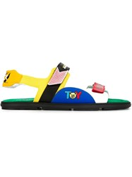 Moschino Toy Sandals Multicolour