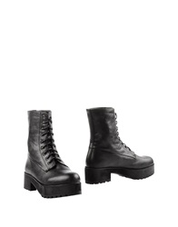 Francesco Milano Ankle Boots Black