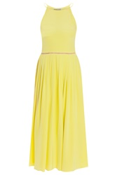 Preen Pansy Silk Strappy Dress