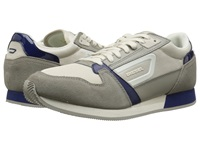 Diesel Owens Taupe Peacoat Blue Men's Lace Up Casual Shoes Gray