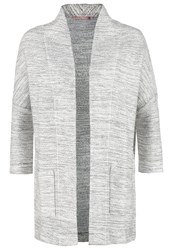 Anna Field Cardigan Light Grey Melange White Mottled Light Grey