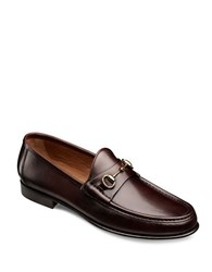 Allen Edmonds Italian Verona Ii Leather Horsebit Loafers Brown