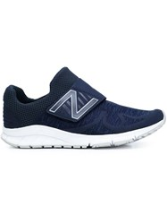 New Balance Velcro Strap Slip On Sneakers Blue