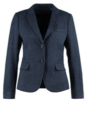Gant Bird Eye Blazer Marine Blue