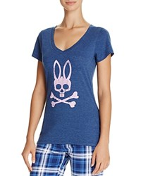 Psycho Bunny V Neck Tee Estate