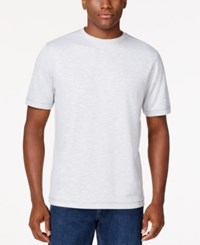 Tasso Elba Space Dye T Shirt Only At Macy's Grey