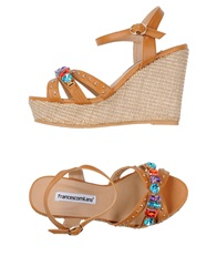 Francesco Milano Sandals Black
