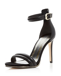 Kenneth Cole Brooke Ankle Strap High Heel Sandals Black