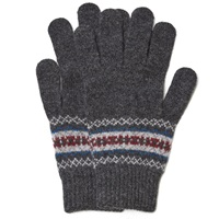 Howlin' Cobra Fair Isle Glove Charcoal Mix