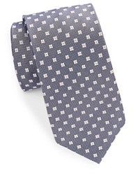 Cole Haan Classic Floral Neat Tie Navy