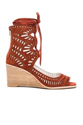Jeffrey Campbell Rodil Wedge Rust