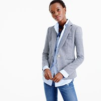 J.Crew Petite Campbell Blazer In Houndstooth