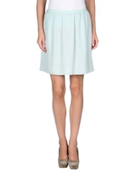 Emporio Armani Knee Length Skirts Light Green