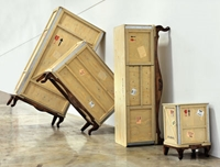 Export Como Chest Of Drawers 3 Drawers L 120 Cm Natural Wood By Seletti