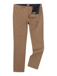 Linea Russell Cotton Chinos Biscuit