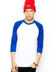 American Apparel Raglan Top Whitelapis