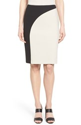 Women's Boss 'Vikrysa' Colorblock Pencil Skirt
