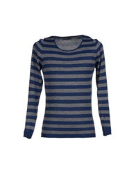 Officina 36 Sweaters Blue