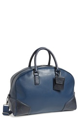 Ted Baker 'Promsey' Leather Tote Navy