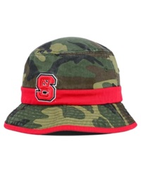 Top Of The World North Carolina State Wolfpack Sneak Attack Bucket Hat Woodlandcamo