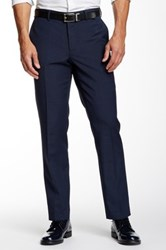 14Th And Union Lino Weave Trouser Blue
